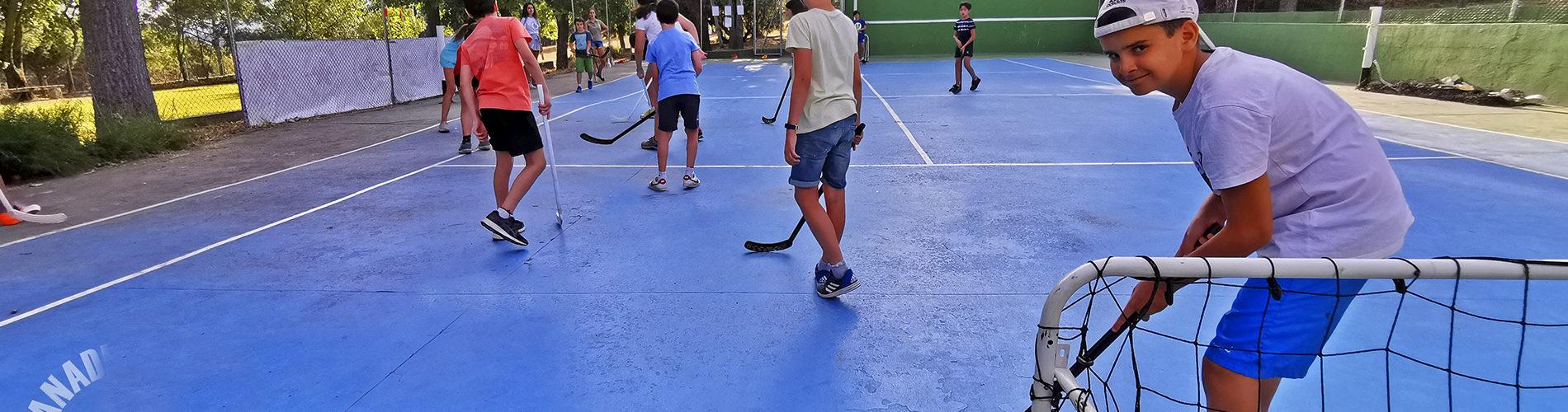 Hockey campamento de verano